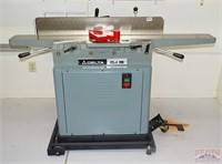 """Delta DJ15 6"""" Jointer on Rolling Stand."""