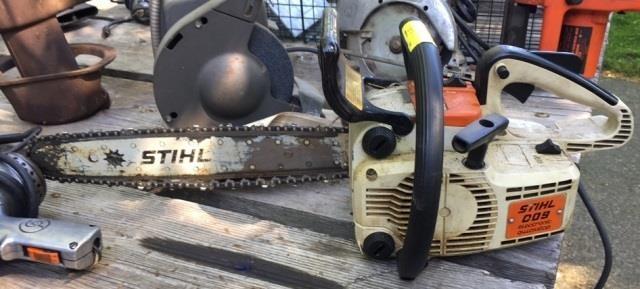 Stihl 009 Electric Chainsaw | Kraft Auction Service