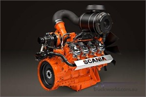 Scania Introduces 16-Litre V8 Engine Powered By Waste