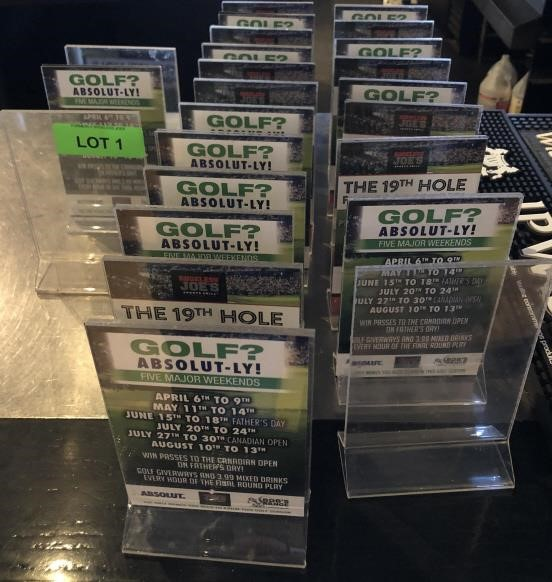 Lot Of Table Talkers Haymach Canada