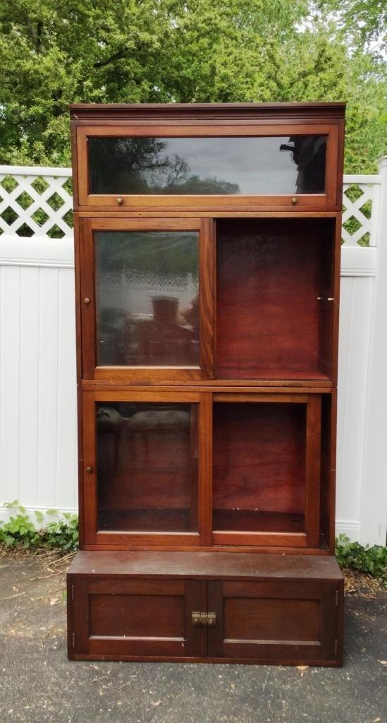 4 Stack Bookcase Library Bureau