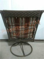 Wicker Table & Chairs