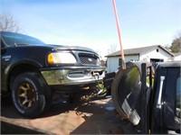1998 Ford F250 Super Duty 4x4 plow truck