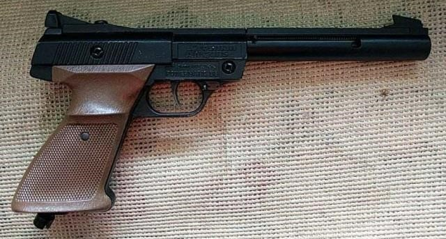 Crosman Model 1600 Powermatic BB Pistol | HiBid Auctions