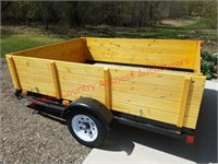 Factory Made Steel 6×8 Utility Trailer
