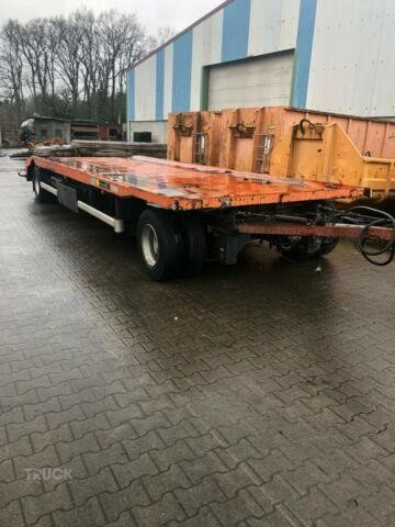 HUEFFERMANN TIEFLADER / CONTAINER - ANH�NGER - 18 TO.