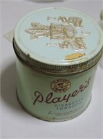 Marbles in Player's Tobacco Tin