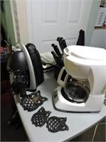 Small Appliances & Knife Set, Travel Mug, etc