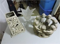 Candleholders, Friendship Ring