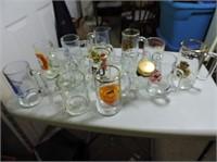 Selection of Beer Mugs