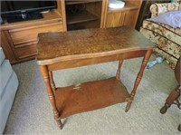 """Antique Occasional Table, 22"""" x 10"""" x 23"""""""