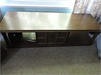 Vintage Coffee Table, Sliding Front Door