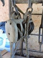Antique Block & Tackle