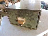 "Metal Cabinet, 11"" x 17"" x 7.5"""