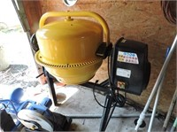 Concrete Mixer, 120V, 60HZ, Drum Capacity 115L