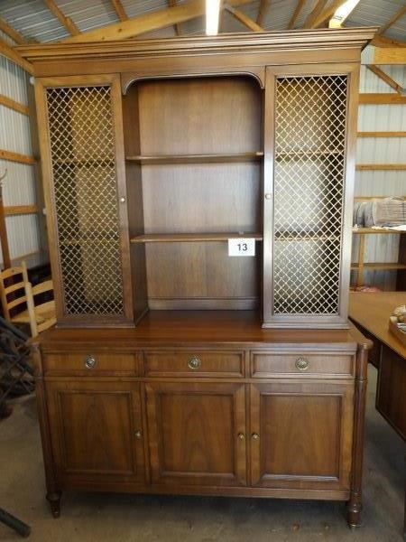 Mid Century Modern Kindel Furniture China Hutch Auctions By Schackmann