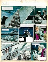 Don Lawrence. Planche originale Trigan