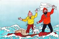 Studios Hergé. illustration originale