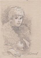 Renaud. Illustration originale