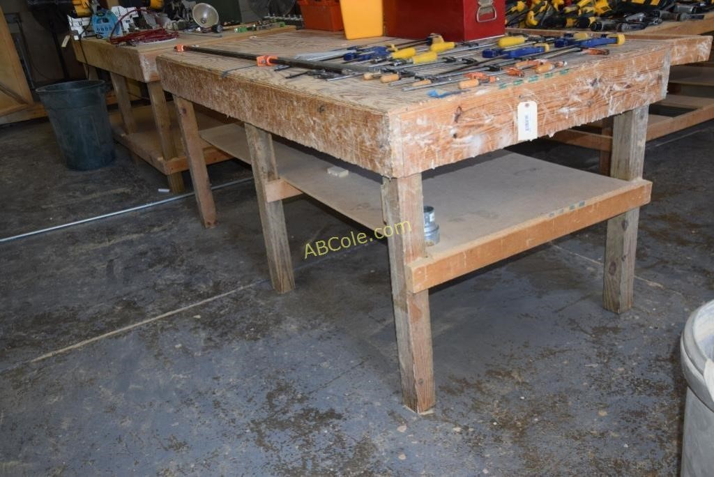 Awesome Custom Work Bench 8 Ft X 5 Ft X 43 In United Country Gmtry Best Dining Table And Chair Ideas Images Gmtryco