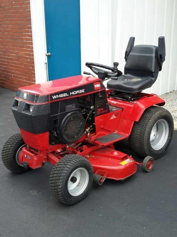 Heavy Equipment Toro Wheel Horse 314 Hydro 518 Hours 45