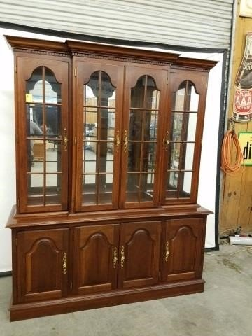 Lot 21 Colonial Furniture Company China Cabinet