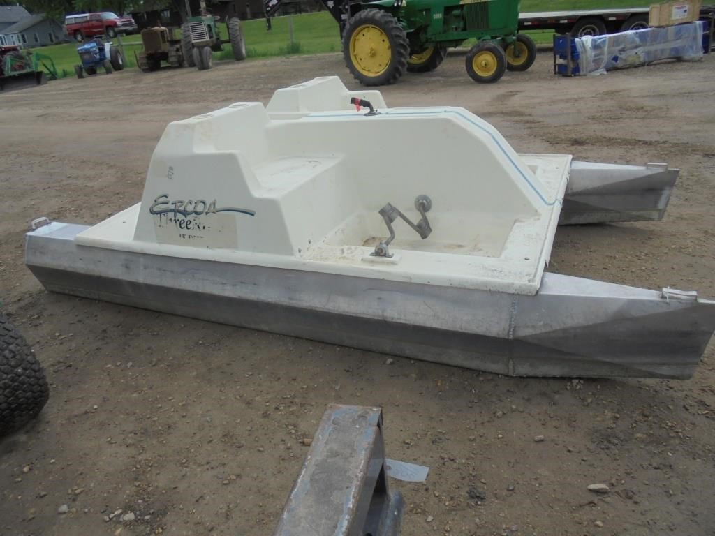 Ercoa 11 1 2 Paddle Boat 4 Person Hibid Auctions