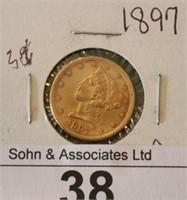 1897 $5 U.S. Gold Coin