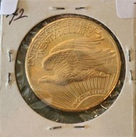 1927 $20 U.S. Gold Coin