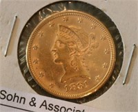 1881 $10 U.S. Gold Coin