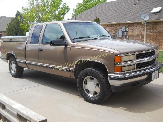1996 Chevy Z70 1500 Pickup 4x4 Off Road Hibid Auctions