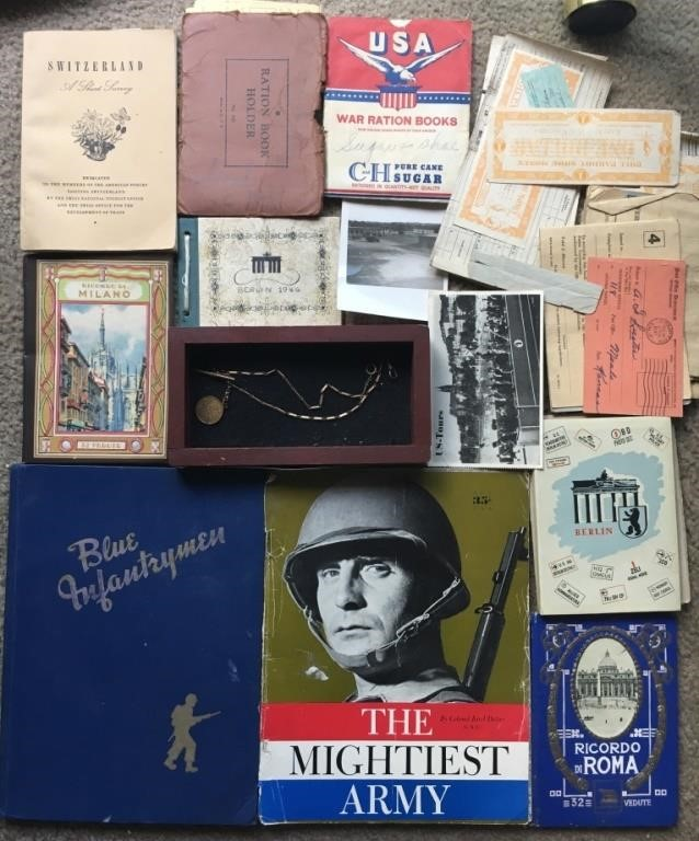 Collection WW2 Memorabilia & Watch Fob | Carrell Auctions