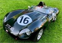 Jaguar D-type replika, 1973/1954, MOMSFRI