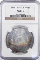 May 2018 Online Rare Coin & Currency Auction