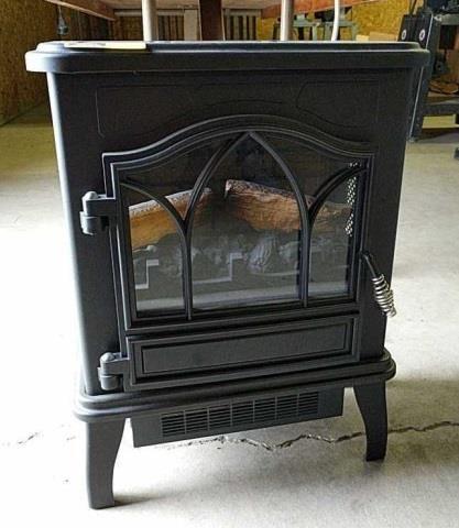 Portable Electric Fireplace Heater Kraft Auction Service