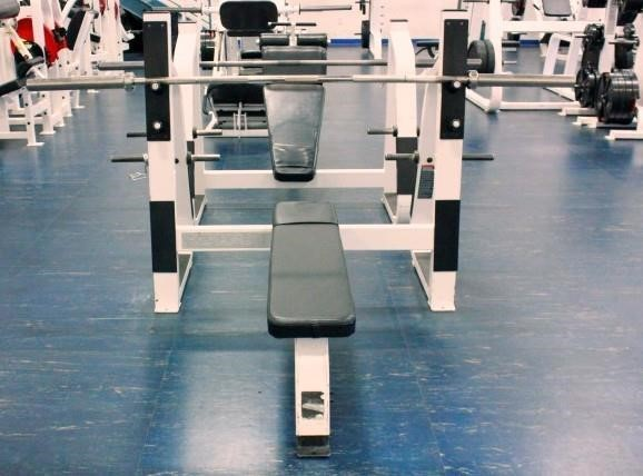 Precor Icarian Line Weight Bench Ymca Meridian Public Auction