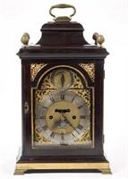 James Tregent (active 1770-1804) George III bracket clock (c.1780)