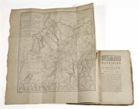 """John Filson """"Historie de Kentucke, nouvelle colonie a l'ouest de la Virginie"""" (1785) deaccessioned by the Colonial Williamsburg Foundation with proceeds to benefit the Collections and Acquisitions Funds"""