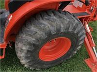 Kubota B3350 Compact Backhoe, Loader, Mower & 3Pt  | Bid-N