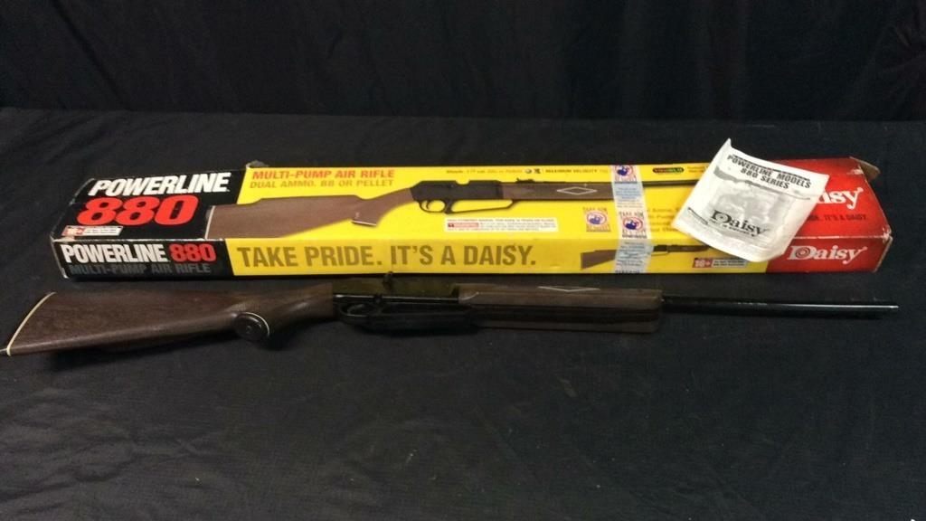Daisy Powerline 880 Multi-Pump Air Rifle | Midland Bid Junkies