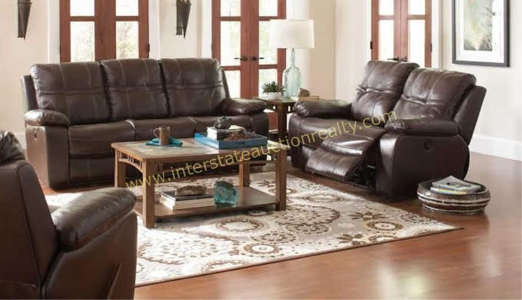 Brilliant Coaster Leather Reclining Sofa Love Seat Interstate Home Interior And Landscaping Palasignezvosmurscom