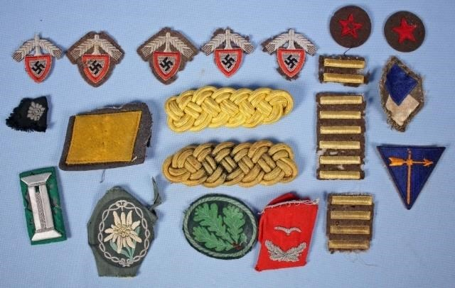 Group of World War 2 German Nazi Patches | Kennedy's Auction
