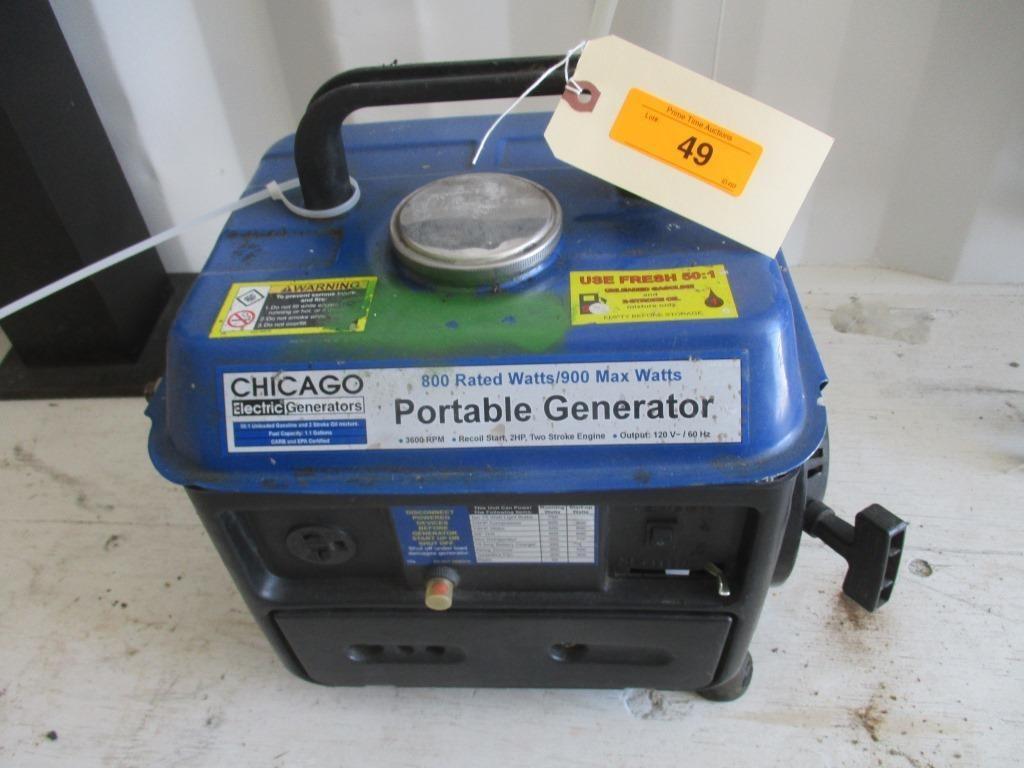 Lot 49 Chicago Portable Generator