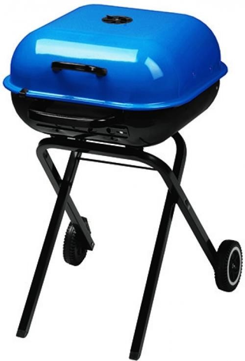 Aussie Walkabout Charcoal Grill - Blue | The Bargain Box