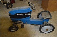 New Holland TC33D Pedal Tractor   United Country Rogers