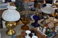 Aladdin Lamps, Cobalt blue lamps