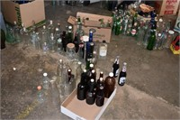 Old Bottle Collection, Drink Medicine, etc