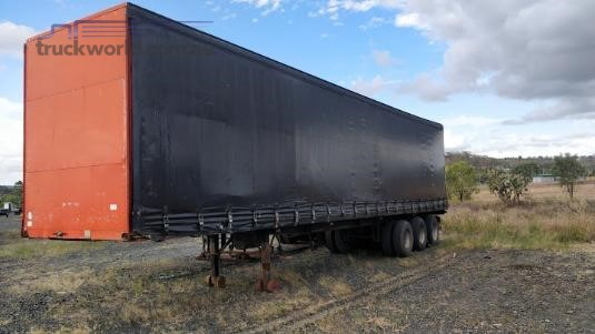 1987 Freighter 45ft Curtainsider Trailer Wheellink - Trailers for Sale
