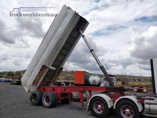 1980 White Tipper Trailer Wheellink - Trailers for Sale