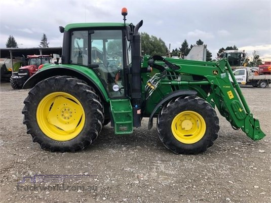 2014 John Deere 6105M - Farm Machinery for Sale